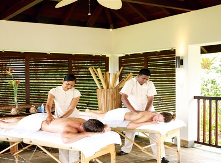 The fabulous Spa at Anahita Mauritius Resort