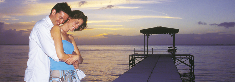 Romantic settings for weddings in Mauritius