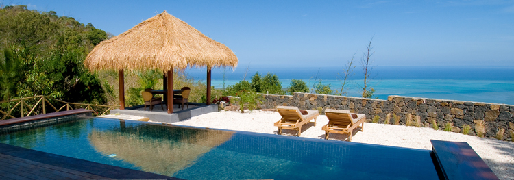 Our holidays to Mauritius include a luxury lodge in the mountains - Lakaz Chamarel