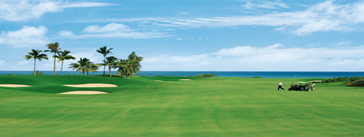 Superb championship golf courses on your holiday in Mauritius