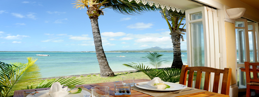Romantic dining on your idyllic Mauritius holiday
