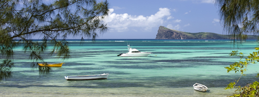 Beautiful tropical beaches for your Mauritius holiday