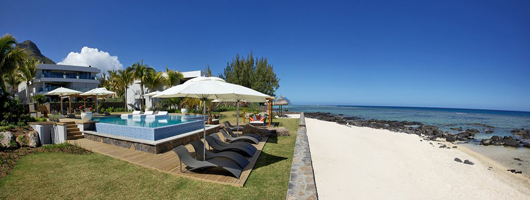 Stunning beachside settings of our Mauritius apartments