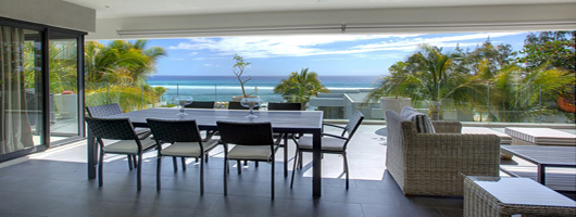 Luxury apartments in Mauritius - great for families and small groups