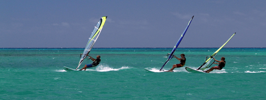 Fabulous choice of water sports on holidays in Mauritius