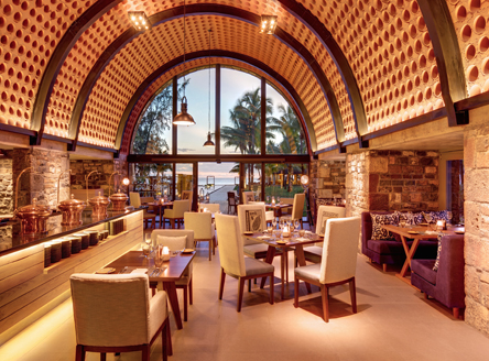Mercado Restaurant for all-day dining at Outrigger Mauritius