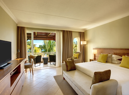 Deluxe Seaview Rooms at Outrigger Mauritius
