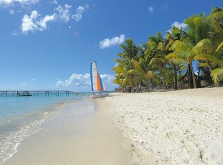 Enjoy powder soft beaches on your Mauritius holiday