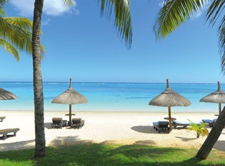 Relax on the beach at Trou aux Biches