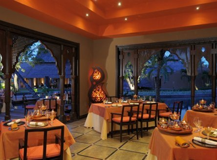 Wide choice of dining options at Trou aux Biches