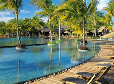 Trou aux Biches has one main pool and six infinity pools