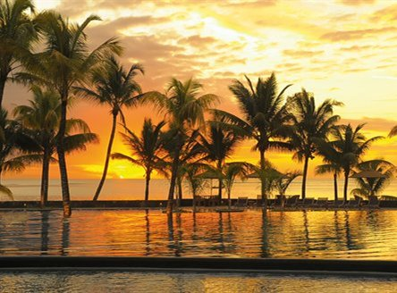 Experience some of the best sunsets from Trou aux Biches