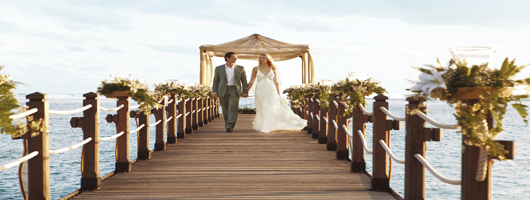 Breathtaking settings for romantic weddings in Mauritius